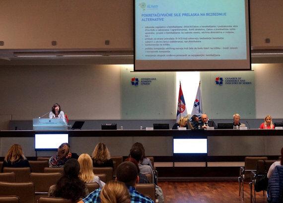 """Održan seminar """"obaveze vezane za supstance koje izazivaju zabrinutost u skladu sa nacionalnim i EU propisima"""" u ponedeljak, 9. Oktobra 2017."""