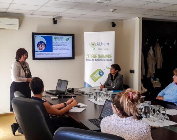 Održan seminar o zelenim nabavkama za organizacije civilnog društva iz Vojvodine